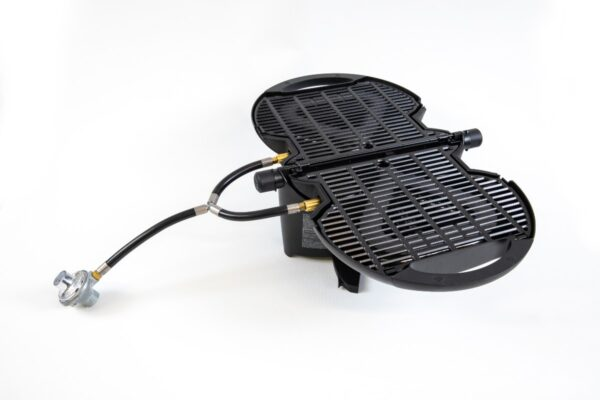 Regulator assembly with nomadiQ Grill