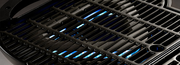 Non-stick grill cooking grates